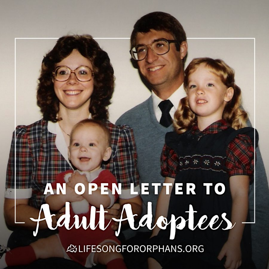 Adoptees adult orphaned